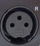 桌面插座卡侬接口